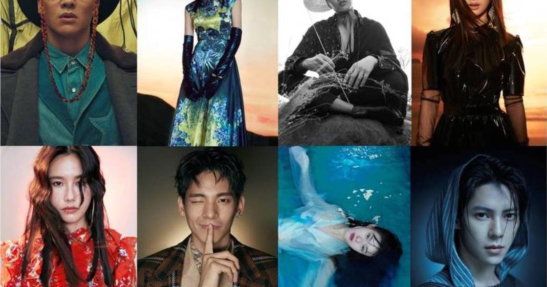 林依晨、張睿家、林柏宏!有時尚大片感的 2019 慈善年曆