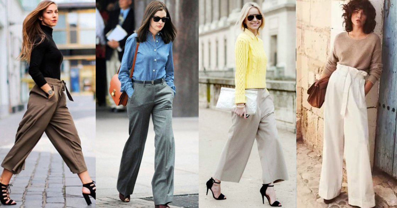冬季寬褲如何穿出好比例?把握「前紮後放」三招原則