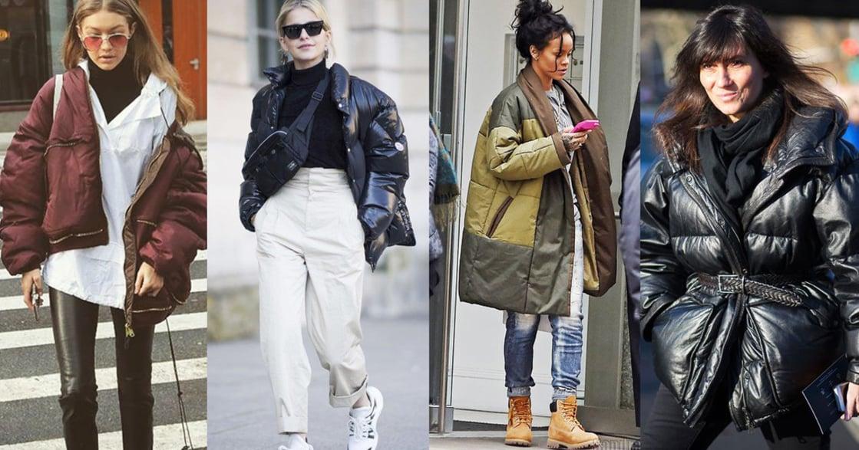 上寬下窄!4 種把羽絨外套穿得時髦的穿搭法