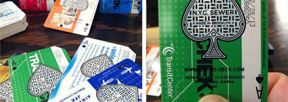 回收車票卡撲克牌,收藏的心情勝過玩牌
