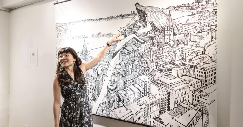 專訪插畫家培綺:你熱愛的事物,會自己找到出路