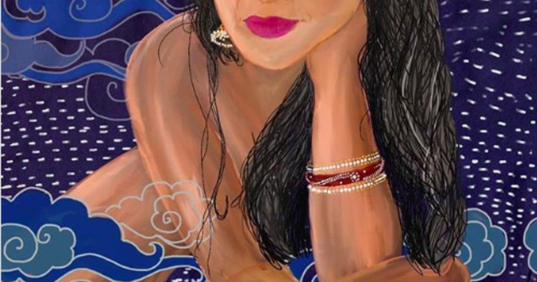 印度藝術家乳房插畫:女人應為自己的身體感到喜悅