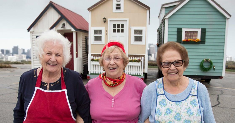 人生下半場!美國銀髮奶奶:我的晚年不用大房子,只要自由和快樂