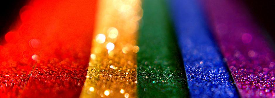 生活就像是一道彩虹