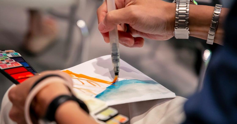 藝術繪畫治療:用「情緒四格」與自我對話