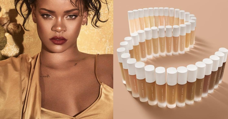 D&I 策略間|絕對有適合你的!蕾哈娜如何用 40 色階粉底液顛覆美妝產業?
