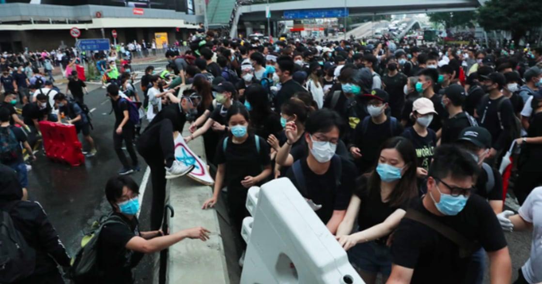 撐香港,也撐性別平權!「反送中」現場,被蕩婦羞辱的女性