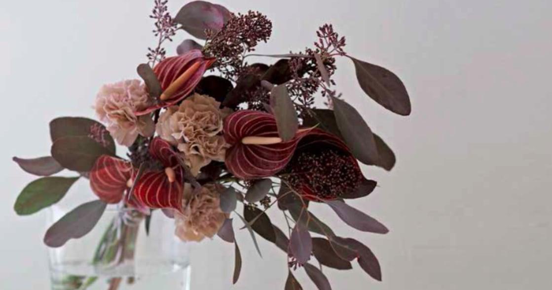 單身女子生活提案:來盆豔紅插花,讓家很夏天