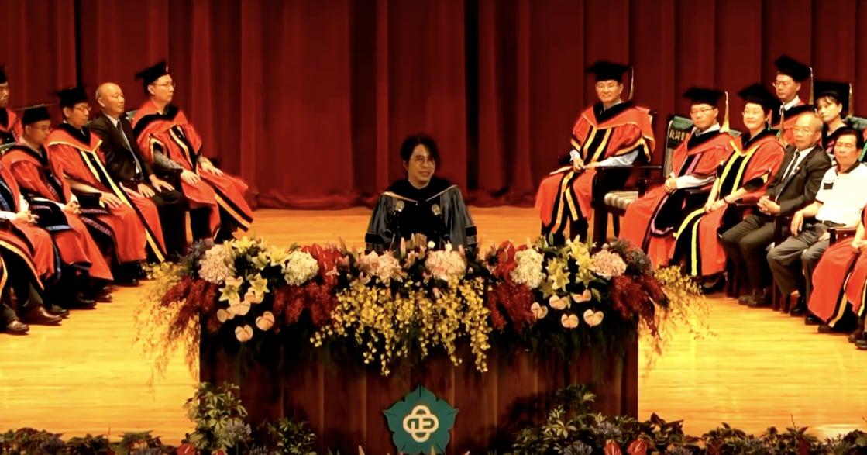 台大教授葉丙成畢業演說:只求發大財的未來,是你們想要的嗎?