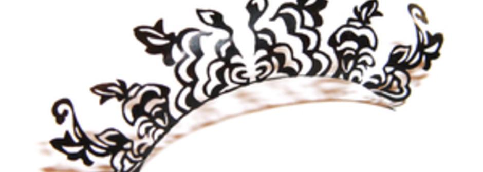 戴在眼睛上的藝術品 PAPERSELF 紙睫毛