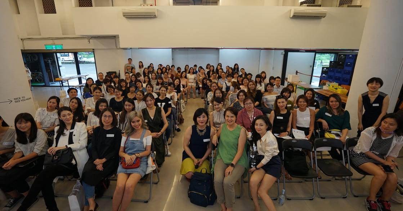 SLP Women Event 女性創業論壇:女性的耐心與細膩,能帶領企業走向成功