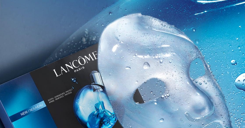 快速吸收小黑安瓶的精華!蘭蔻推新品面膜,讓肌膚 48 小時水嫩透亮