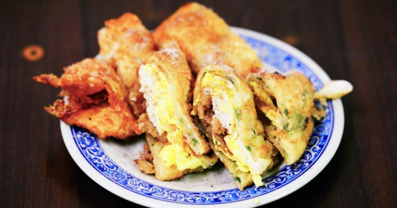 台式早餐特輯|重慶豆漿:鹹豆漿、炸蛋餅、超巨大飯丸!