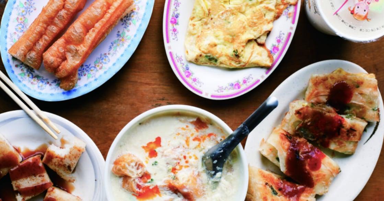 台式早餐特輯|行天宮「喜士多豆漿店」現桿的蔥花蛋餅