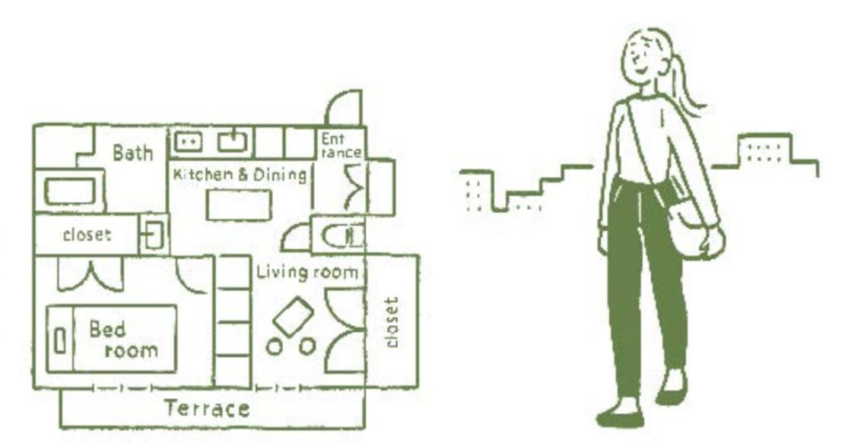 單人租屋好難找?小訣竅:「配置」比坪數更重要