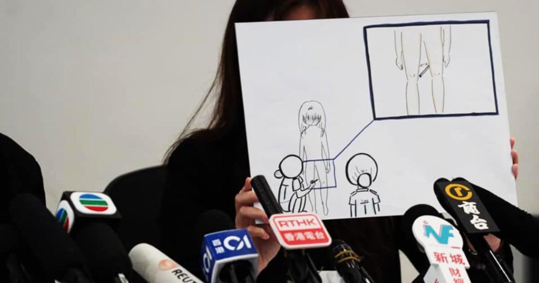 要求全裸搜身、用筆拍大腿:香港反送中不當凌辱女性