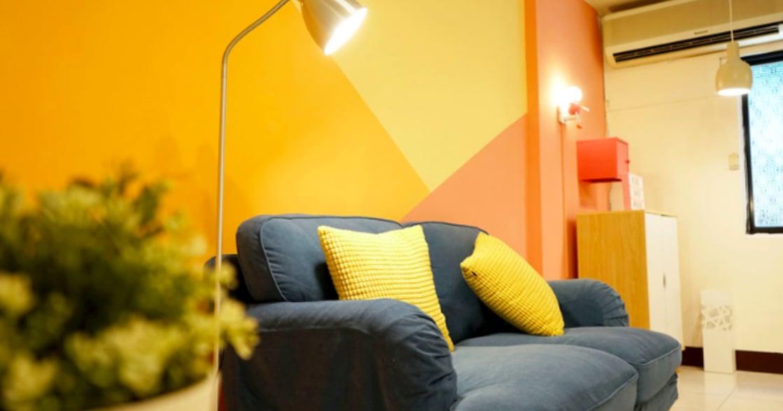 同婚之後,我們想要更可愛的家:舊屋變身超可愛彩虹公寓