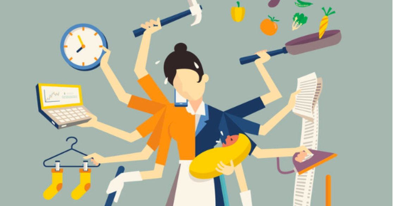 媽媽天生能身兼多職?研究:沒有任何性別擅長多工任務