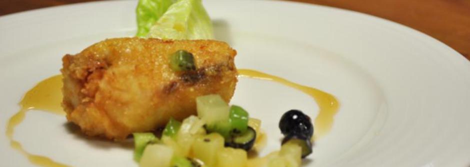 美味料理食譜:橙汁果香鮮魚卷