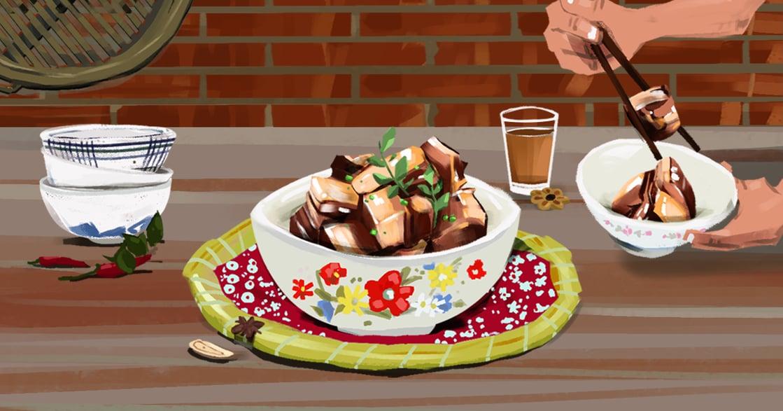 【吃與愛】阿嬤的紅燒爌肉:當餐桌上出現這道菜,是他們知道我回家了