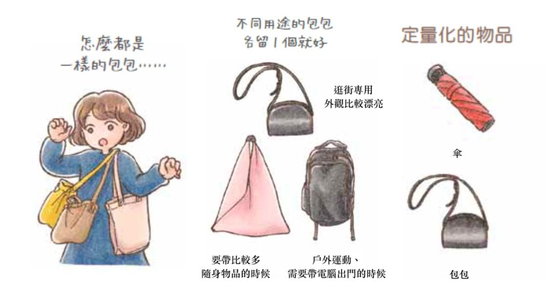 「只留下最需要的,就是幸福」為什麼你的包包,只要三個就夠?