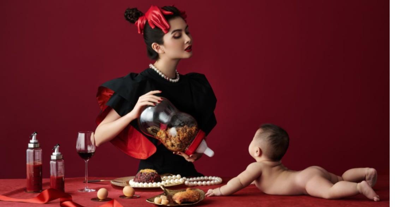 顛覆傳統彌月禮,風靡媽媽圈的時尚油飯