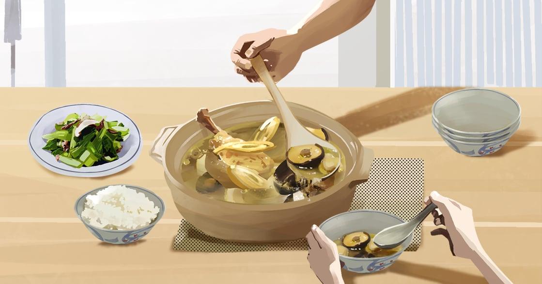 【吃與愛】母親的香菇燉雞湯:離開我城,再找不到相同的滋味