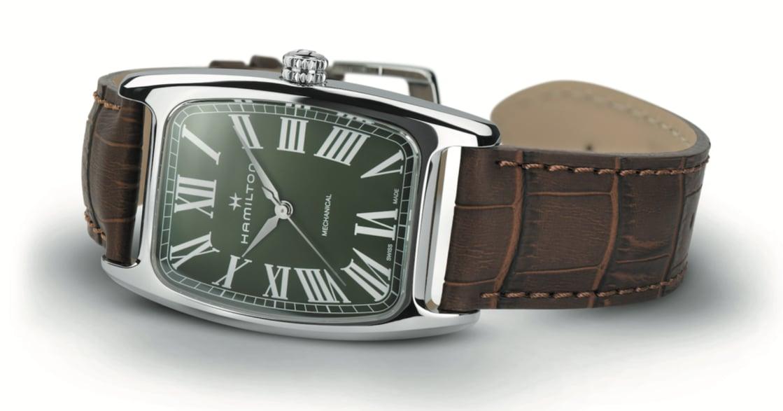 美國腕錶品牌漢米爾頓新品上市,設計融合極簡主義與裝飾主義