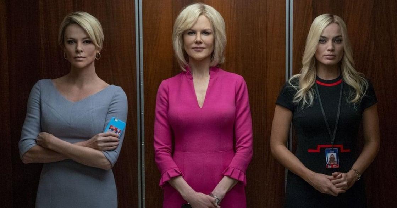 莎莉賽隆、瑪格羅比、妮可基嫚三大影后擔綱主演《重磅腥聞》,終結職場性騷擾文化