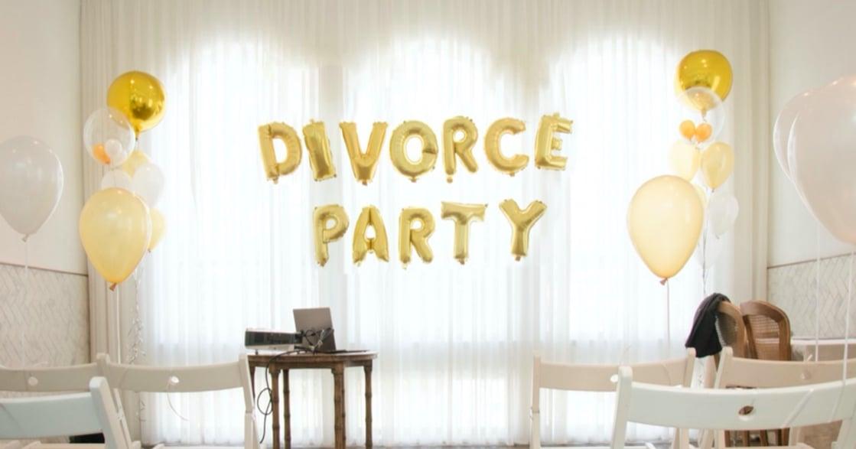 「告白需要衝動,但告別需要智慧」,台灣首對夫妻辦離婚派對