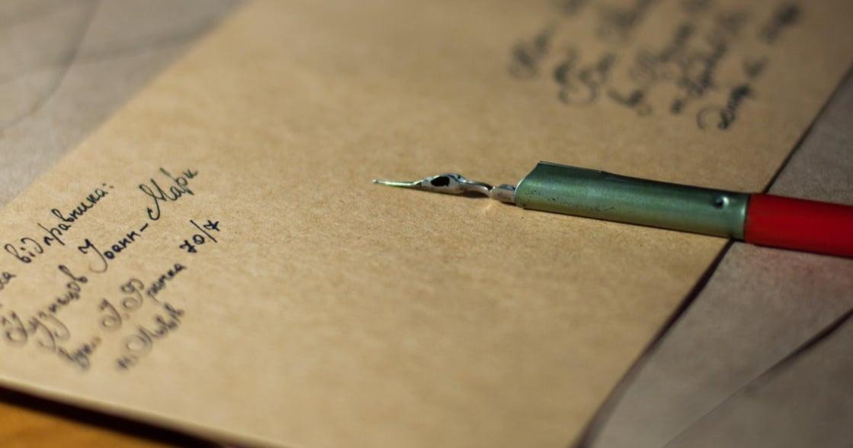 預防性遺書:想像明天你將離去,試著寫封信給重要的人