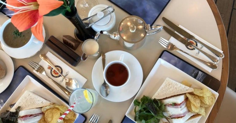 百年飯店、皇家郵輪!英國愛丁堡奢華下午茶盤點