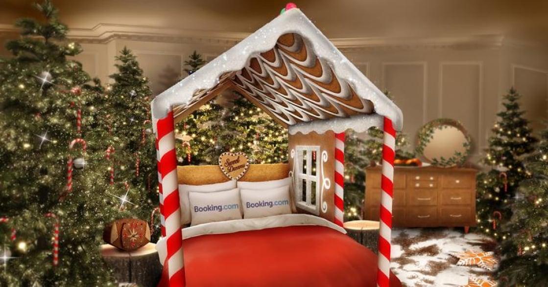 直逼《巧克力冒險工廠》!Booking.com 推出可以吃的甜蜜房間