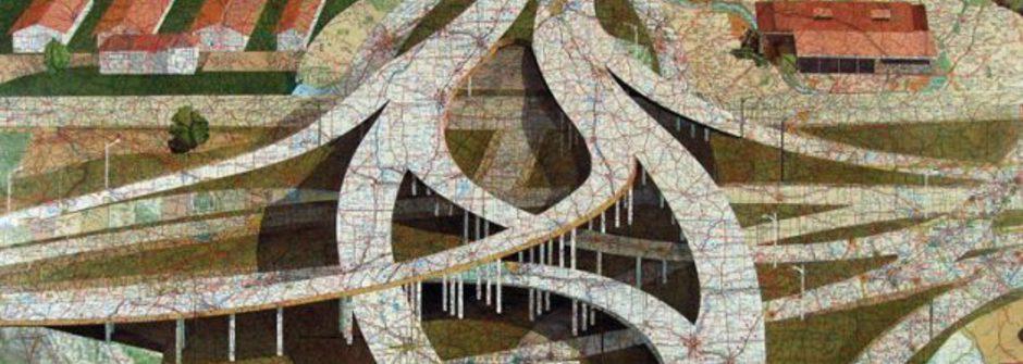 過時的地圖怎麼辦?用來做藝術創作吧!