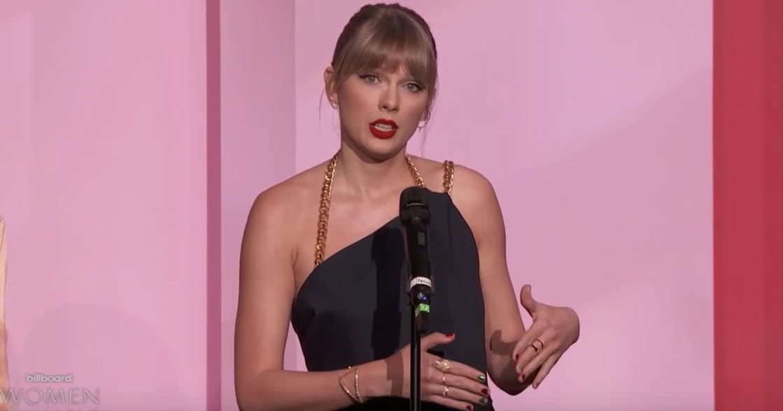 泰勒絲獲頒女性成就獎!回應酸民:你們會批評,是因女人的成就讓你們感到不舒服