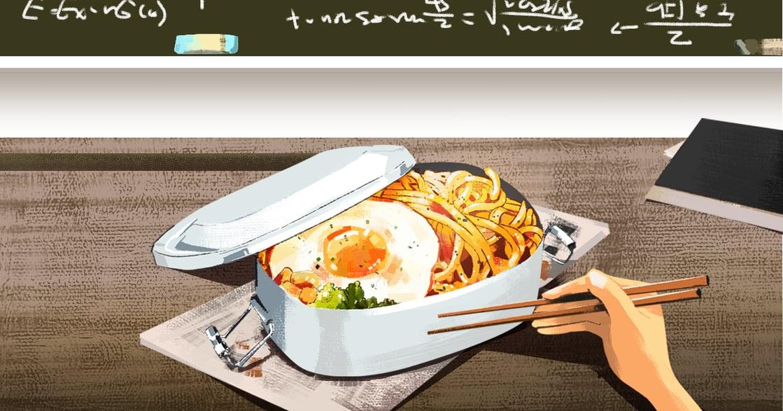 【吃與愛】高中時期的便當盒,總有一道名為初戀的滋味