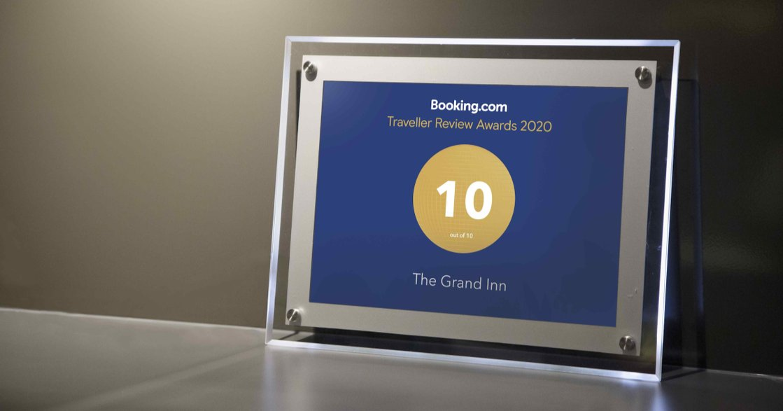 Booking.com「旅客評分卓越獎 2020」花東多間民宿獲獎!