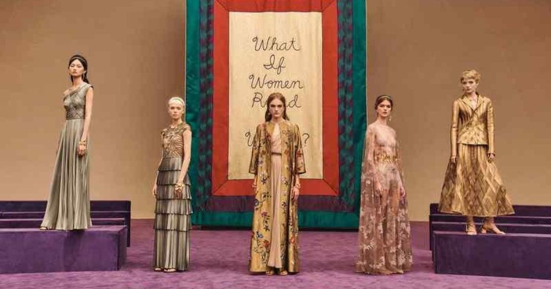 「如果世界由女性主宰會如何?」DIOR 2020 春夏系列飄希臘女神風