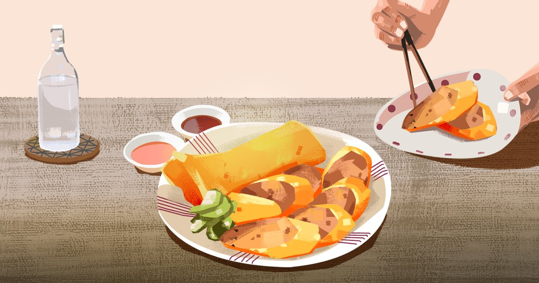 【吃與愛】炸肉捲:阿公倒下後,我們再沒一起做過這道菜