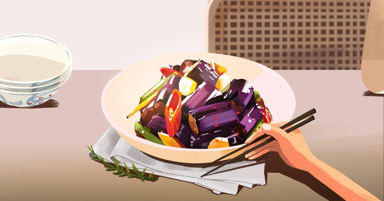 【吃與愛】「媽,快過年了」想念母親的醬燒茄子