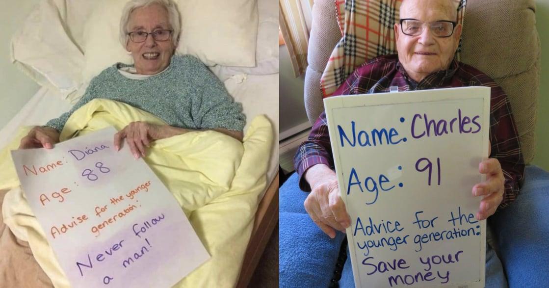 「學著慢下來,別因為趕時間而走得快」80 歲爺爺奶奶們給年輕一代的人生建言