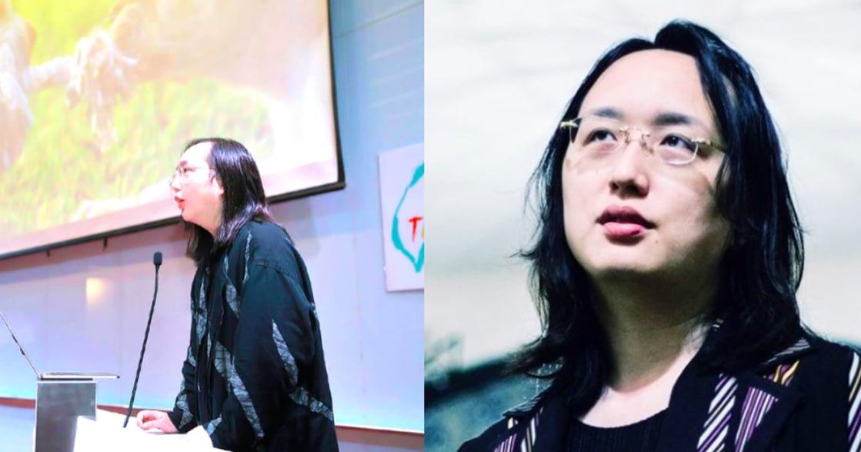 無性別閣員又怎樣?唐鳳:我其實沒有變性,一直都是我自己的樣子啊!