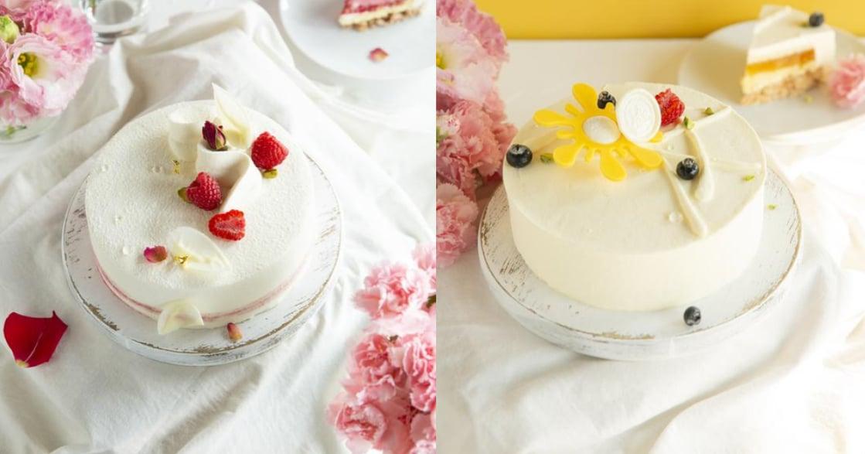 今年母親節,買個蛋糕在家慶祝 用 LA ONE 義式奶酪、白巧克力慕斯表達你濃郁的愛