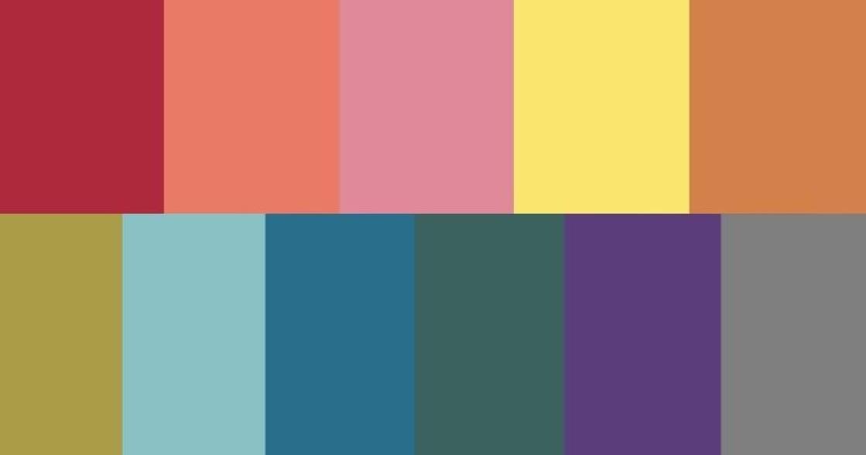 日本戀愛占卜師分析!11 種顏色,反映你的愛情樣貌