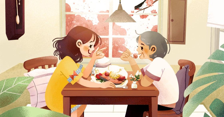 【春天餐桌故事】檸檬紙包魚,我沒離家,你沒變老,我們依然很靠近