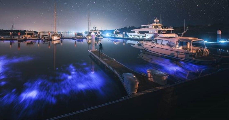 CNN 認證的世界級美景!台南安平「神秘藍」你看過了嗎?