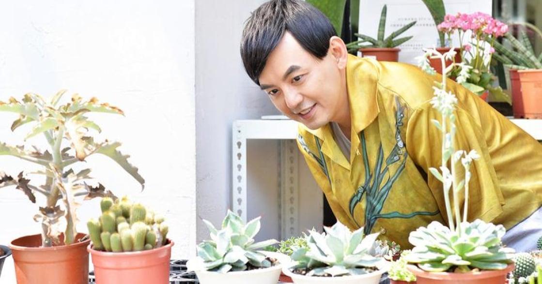植物教我的事!專訪黃子佼:「有充足的水和陽光,生命自然會發光」