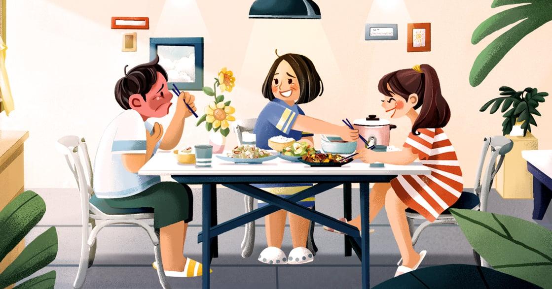 【夏天餐桌故事】母親的炒絲瓜:確認自己被愛,會幫助你度過很多困難