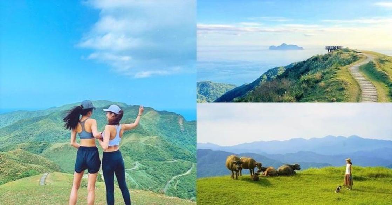 映入眼簾的都是海!北台灣最美草原「桃源谷」登山步道
