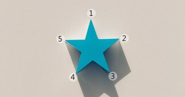 日本熱門心理測驗:畫一顆五角星,看出你的感情觀